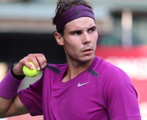 Rafael Nadal loses Japan Open final 2011