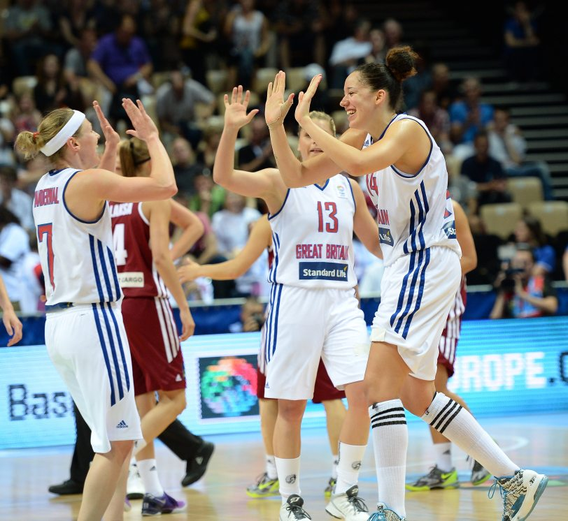 Great Britain v Latvia